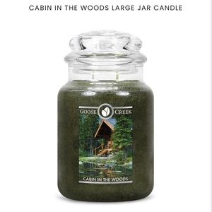 Goose creek candle 🕯 cabin in the woods
